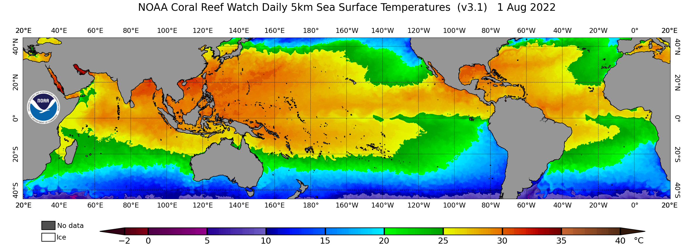 Global Sea Surface Temperature image